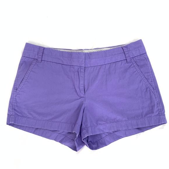 J. Crew Pants - J Crew Cotton Chino Shorts in Lavender